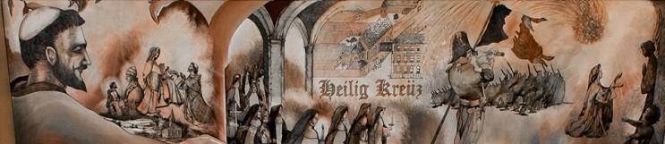 Heritage Room Mural 1, 1206-1851