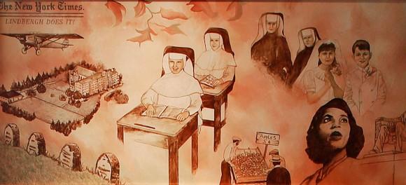 Heritage Room Mural 7, 1927-1939