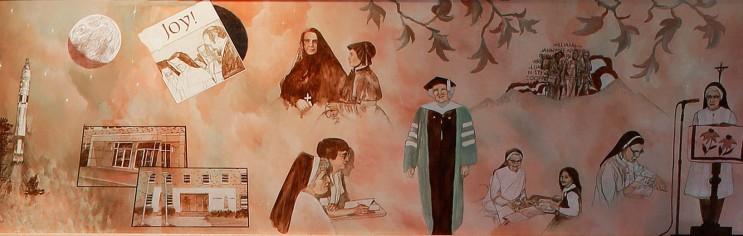 Heritage Room Mural 9, 1957-1972