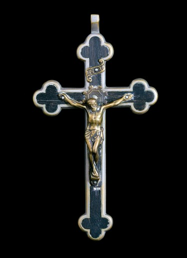 Crucifix carried by Mother Hyacinth Scheininger
